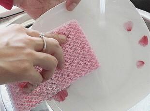日本LEC洗碗海绵 洗碗巾 百洁布 厨房清洁用具 单个装 20802,