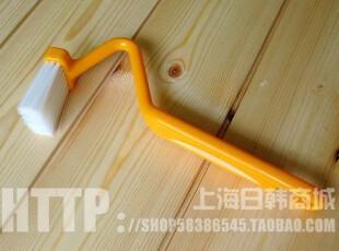 日本进口弯柄清洁刷 刷子 清洗刷 马桶刷 家居用品2269,马桶配饰,