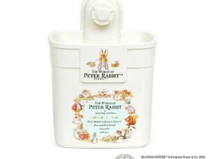 韩国正品 彼得兔 浴室收纳盒 收纳架 牙刷架-----强力吸盘,浴室储物,