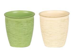 欧洲时尚卫浴 丝普瑞 Spirella 合成树脂木纹 漱口杯 (4色),
