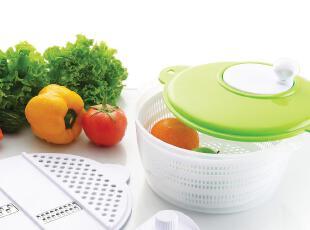 创意厨具 厨房蔬菜水果清洗器 清洗机脱水器 刨丝器 三合一包邮,厨房工具,