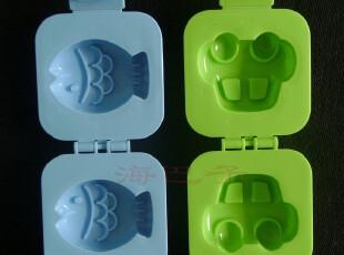日本原装进口鸡蛋模具饭团模具厨房工具 宝宝最爱 小鱼小车,厨房工具,