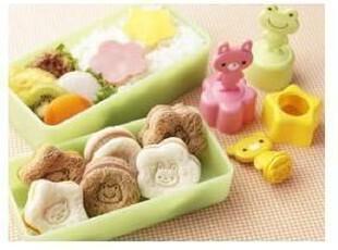 现货 小熊小兔青蛙蔬果拔型 压花模子 三明治模具 饼干模,厨房工具,