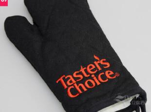 预14天发货 加厚微波炉手套纯棉帆布高温隔热防烫手套烤箱手套,厨房工具,