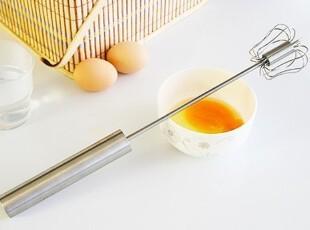 达盛 创意 打蛋器 不锈钢打蛋器 不锈钢旋转式打蛋器 手动打蛋器,厨房工具,
