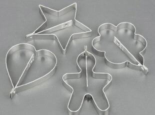 秒杀特价 加厚304不锈钢煎蛋器 煎蛋模具4件套 家庭DIY小工具,厨房工具,