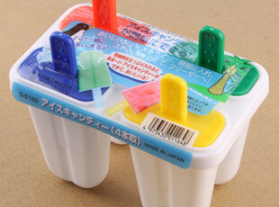 全新料 无气味 幻彩4色棒冰模具 冰激凌冰棒雪糕冰棍模具冰格,厨房工具,