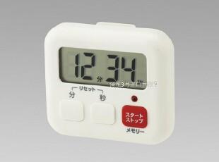 特价日本进口lec创意厨房小工具大画面定时器 磁铁吸附提醒计时器,厨房工具,