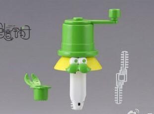 现货 日本代购TAKARA TOMY 1分钟可喝到果汁的手摇机榨汁机 绿色,厨房工具,