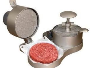 现货!美国购双头汉堡包肉饼制作机,厨房工具,