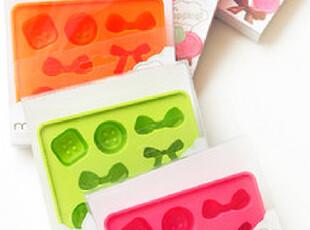 出口日本 日系 超可爱 甜蜜森女 小型冰格 创意制冰盒 硅胶制冰器,厨房工具,