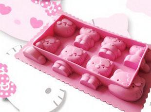 夏季必备 hello kitty冰格冰模 新款创意冰格 卡通惹人爱粉色,厨房工具,