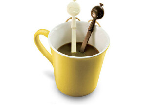 洛哈思 防小人受浸折磨搅拌棒 咖啡搅拌棒 饮料搅拌棒 冷饮搅拌,厨房工具,