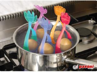 代购 PAVONI 硅胶煮鸡蛋架/ 鸡蛋固定架/5色可选,厨房工具,