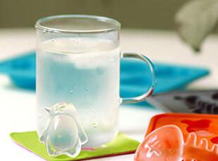 冰格冰盒 企鹅 冰模 制冰盒 制冰袋 果冻模 颜色随机,厨房工具,