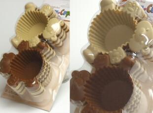 日本 WILTON小熊矽胶烤杯模套装(12件/套)DIY模具,厨房工具,