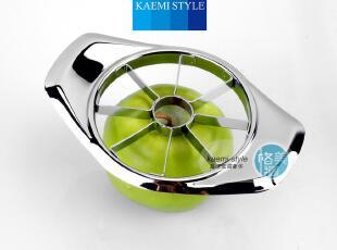 【满300送】优质不锈钢切苹果器 分块器 开果器 切果器加宽省力,厨房工具,