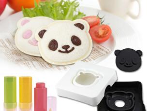 熊猫三明治制作器+美食绘画笔3件套 arnest 面包便当DIY组合套装,厨房工具,