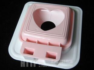 日本进口三明治模具 DIY  口袋  面包片模具 早餐制作 18036,厨房工具,