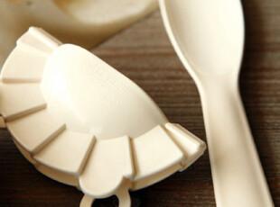 特价!日本外贸 包饺子套装 饺子模具 附料理勺,厨房工具,