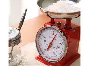 日本进口厨房电子秤 迷你台秤 厨房秤 计量秤500G(3色入),厨房工具,