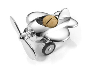 德国Troika 螺旋桨飞机坚果夹/坚果钳/核桃夹 NTC16/CH,厨房工具,