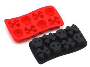 冷艳骷髅冰格 制冰盒/制冰模/冰格/冰块模 挑战你的胆量 2231,厨房工具,