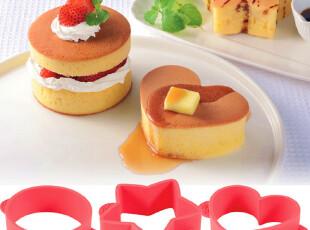 arnest蓬松硅胶蛋糕模具3件套装 烘焙工具套餐西点心磨具厨房用具,厨房工具,