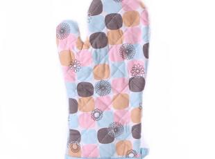 韩式 烤箱防烫手套 微波炉隔热手套 耐高温手套 加厚 纯棉手套,厨房工具,