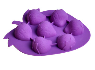 硅胶冰格模具 巧克力模具创意硅胶厨具餐具冷冻果冻模具 环保无毒,厨房工具,