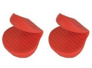 美国代购Trudeau 硅胶隔热手套/硅胶小耳朵/珐琅锅防烫手套 锅耳,厨房工具,