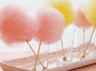 简单的奢华 甜蜜童年回忆硬糖果用棉花糖机 梦幻蜜粉红色 现货,厨房电器,