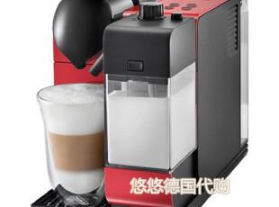★德国直送★Nespresso胶囊打奶泡咖啡机 DeLonghi德龙 EN520红,厨房电器,