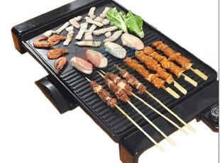 韩式电烤盘 两用烧烤盘 智能铁板烧 无烟不粘烧烤王,厨房电器,