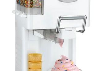 美国代购 Ice Cream Maker 帅爆 冰激凌制作机!可添加巧克力豆,厨房电器,