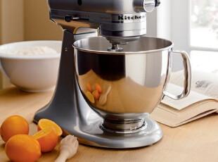 简单的奢华 美式烘培必备KitchenAid Artisan 5 Quart 面食搅拌机,厨房电器,