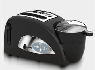 东菱XB-8002早餐机/烤面包机 煮蛋器+多士炉+蒸锅,厨房电器,