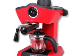 Donlim/东菱 CM-4656家用意式高压蒸汽咖啡机 打奶泡,厨房电器,