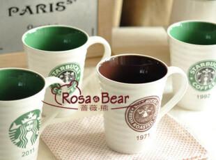 星巴克年份马克杯(四款可选)  家居陶瓷 出口,咖啡器具,