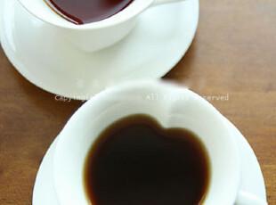 『韩国网站代购』斑斓的情事,甜蜜的心型杯碟套装,咖啡器具,