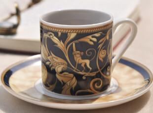 Star mug  咖啡杯碟 浓缩咖啡杯 100ML  小巧精致  Monkey,咖啡器具,