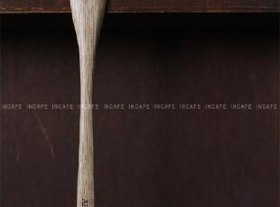 INCAFE| 下午茶平头木勺 咖啡勺 木勺 日单 ZAKKA 蛋糕 勺子 杂货,咖啡器具,