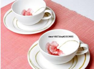 代购 ZEN韩国 环保绿色陶瓷餐具/二人组咖啡杯套/新婚/ 乔迁礼品,咖啡器具,