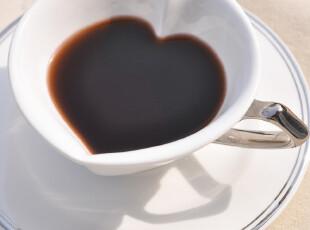 Star mug 咖啡杯杯碟 创意咖啡杯 心形描金 越深越爱,咖啡器具,
