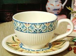 美克美家/欧洲宫廷风范/浮雕陶瓷餐具/雅典娜咖啡杯碟套装/陶瓷杯,咖啡器具,
