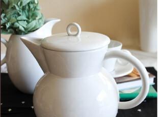 享受白色的优雅——皇家道rd复古白色咖啡/茶壶外贸陶瓷 瓷器餐具,咖啡器具,