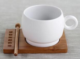 千度悠品 东方禅意 创意陶瓷杯子 正品大瓷大杯和尚杯 咖啡杯,咖啡器具,