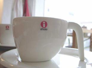 芬兰Iittala EGO 中号 咖啡杯+碟 时尚礼物 006605/006606,咖啡器具,
