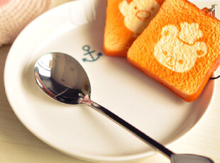 特价 出口韩国 超可爱 爱心手柄不锈钢咖啡勺|勺子,咖啡器具,