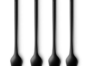 丹麦MENU 拿铁咖啡匙/咖啡勺四件套4664439,咖啡器具,